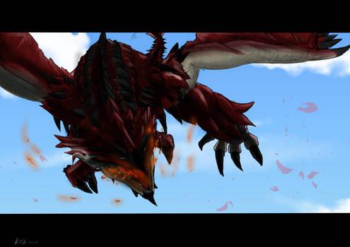 King of the Heavens - Rathalos