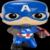 POP! Captain America Civil War - Captain America