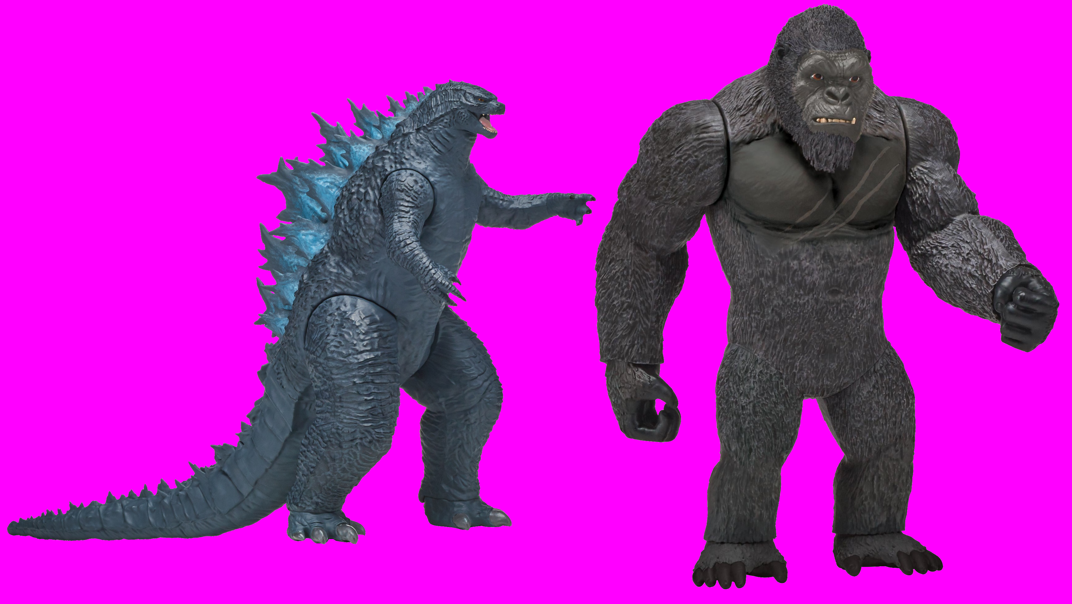 Playmates Toys Godzilla Vs Kong By Pedroaugusto14 On Deviantart