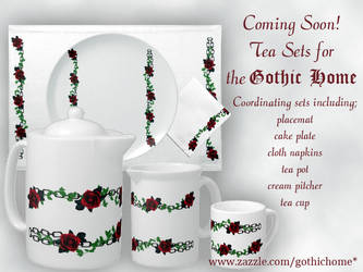 Tea Sets Promotion by GothicToggs