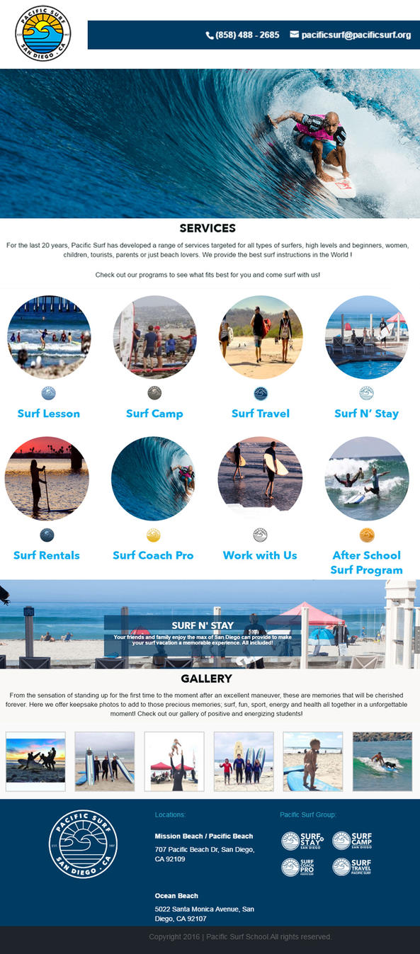 Pacificsurf Infographics by keilareding