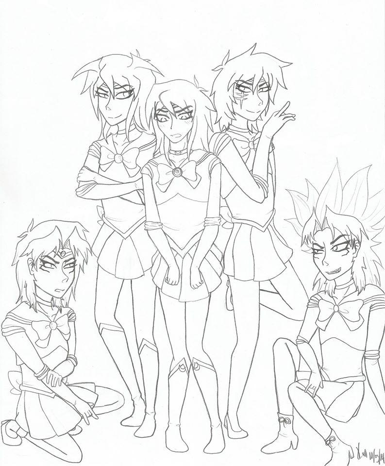 Yu-Gi-Oh! Scouts by ritsukuze