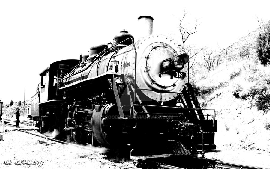 Steam Locomotive No. 18 by Scooby777