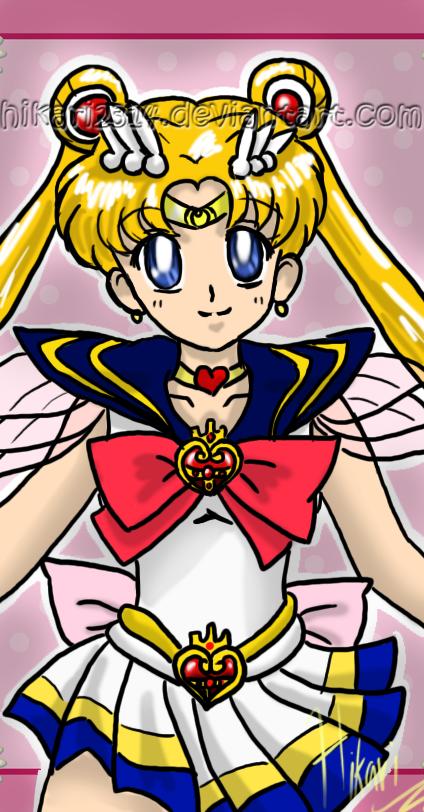 Free drawing 3 - SailorMoon by *hikari2314 on deviantART