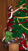 chalet de Noel partie 2