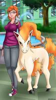fictpoke Myriam and pokemon
