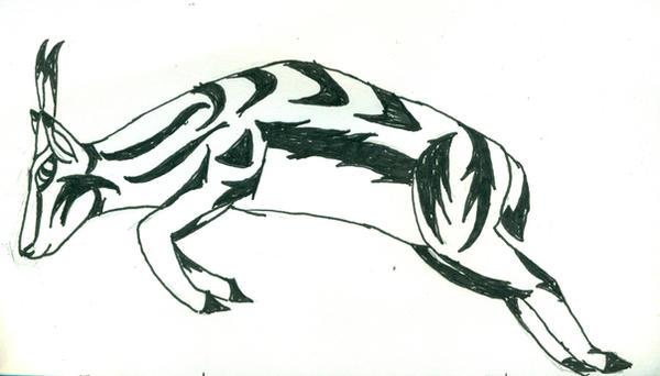 springbok tattoo art by ciberya on deviantart. Black Bedroom Furniture Sets. Home Design Ideas