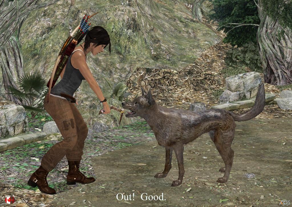 130314_Lara_found_a_new_friend by McGaston