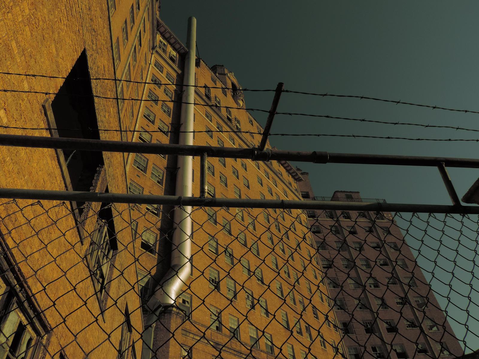 The Baker Hotel Rear View By Psycho7death On Deviantart
