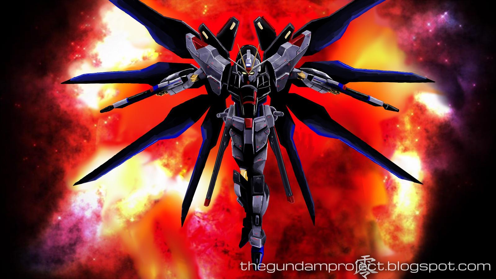 ... ZGMF-X20A Strike Freedom Gundam by Black-Rei