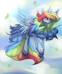 Alicorn Rainbow Dash