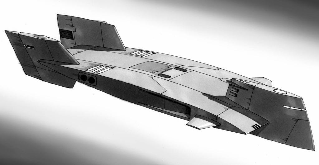 Spaceship 15 by Manu05