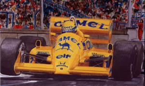 Senna at Monaco by Manu05