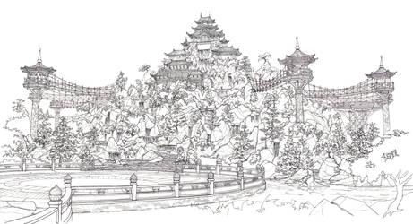 Qian Pavilion by Manu05