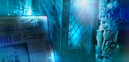 Reading Daily Prophet in Hogwarts