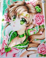 Sailor Jupiter coloring