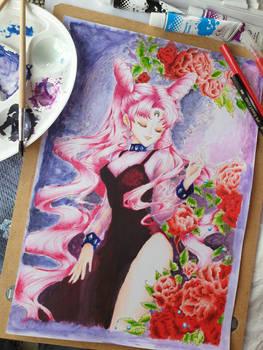 Black Lady Coloring
