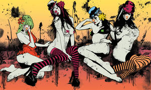 SEXY CLOWN GIRLS by matiasramone