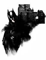dark knight by acenriquez