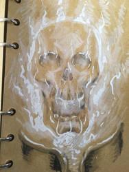 Ghost rider sketch by acenriquez