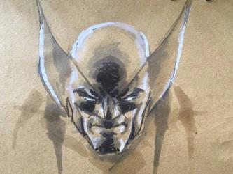 Wolverine sketch by acenriquez