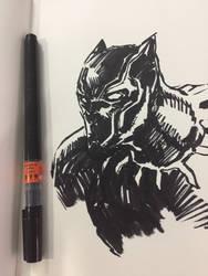 Black Panther by acenriquez