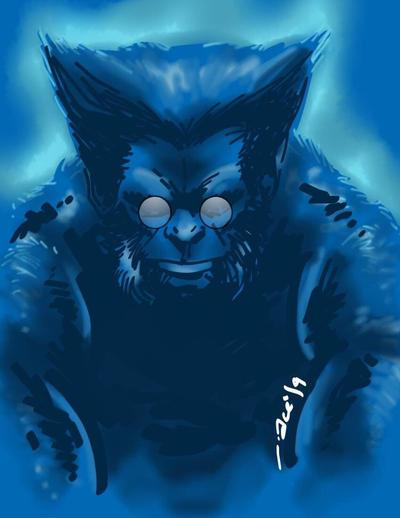 The Beast by acenriquez