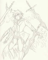 Sketch#16 Ryun Spirit form
