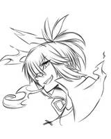 Sketch#257 Howl It by ReiyuuSama