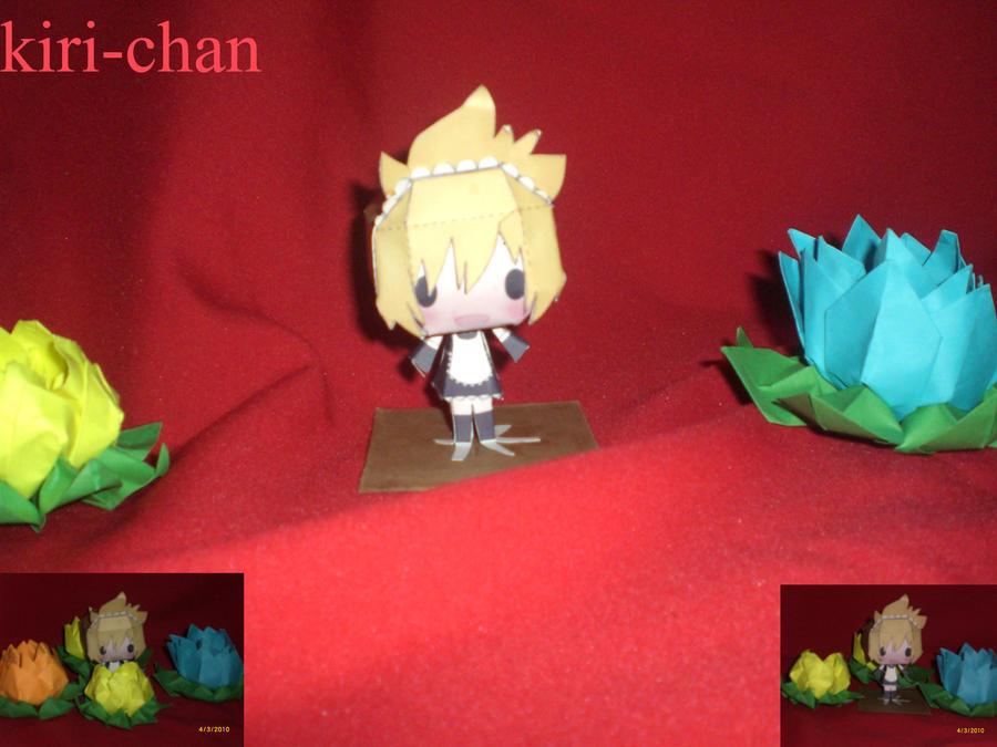 .::len maid::. by kiri-chan1990