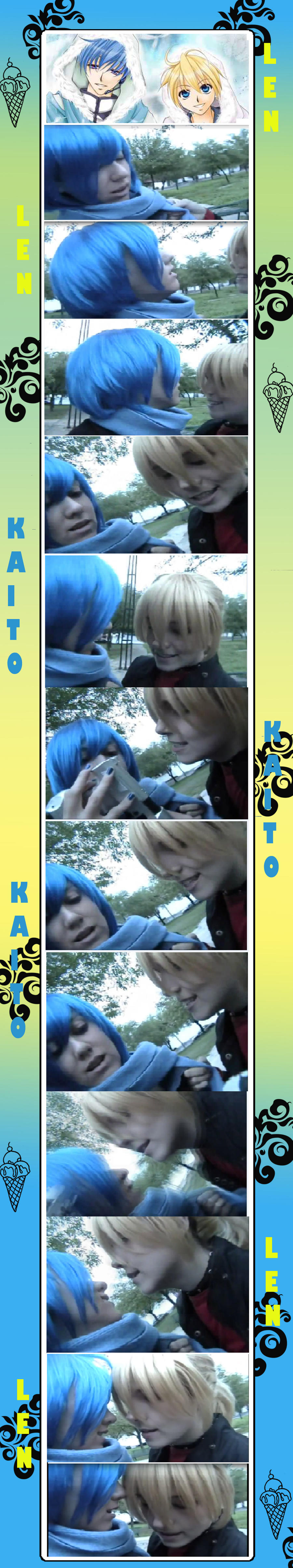 .::KAITOXLEN::. by kiri-chan1990