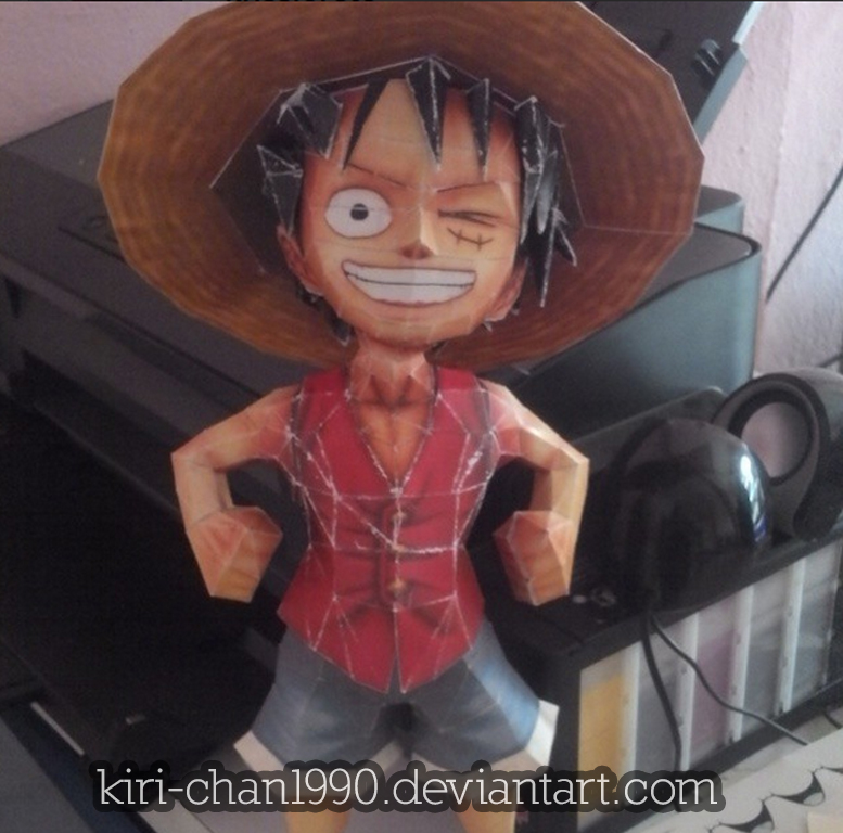Luffy by kiri-chan1990