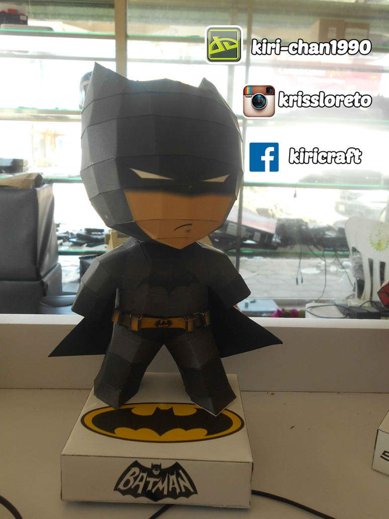 batman papercraft by kiri-chan1990