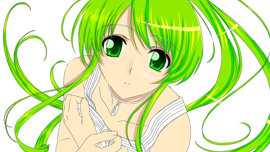 Elsword Rena Anime Girl Drawing By ArisunaRan