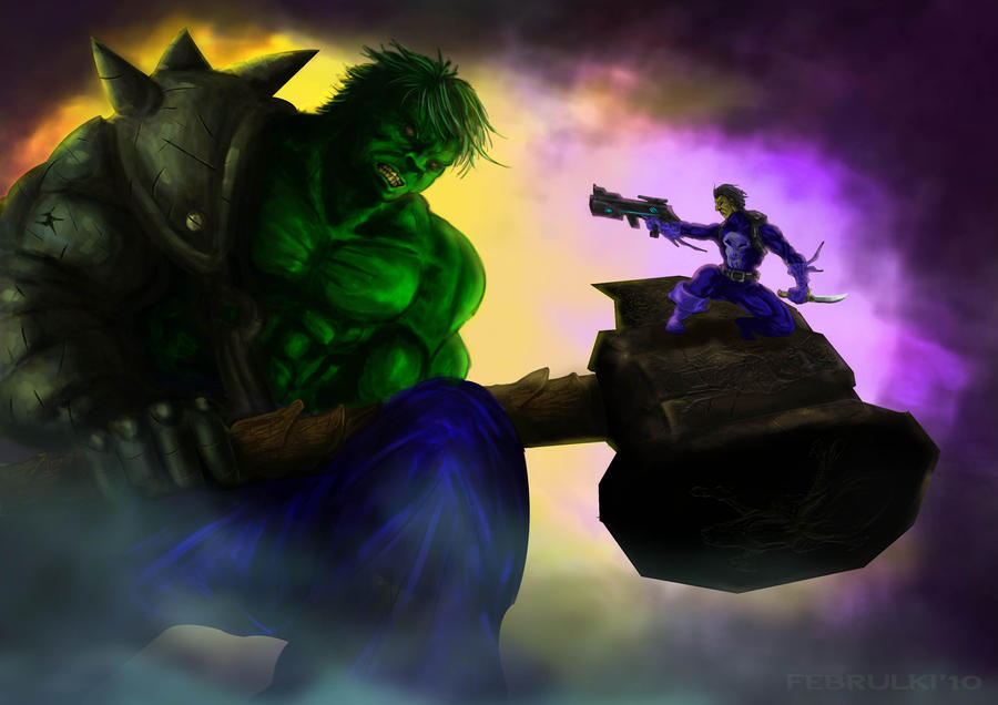 http://img00.deviantart.net/91be/i/2010/248/d/2/hulk_vs_punisher_by_februlki-d2y29z3.jpg