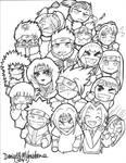 Naruto Chibis: Attaaack XD