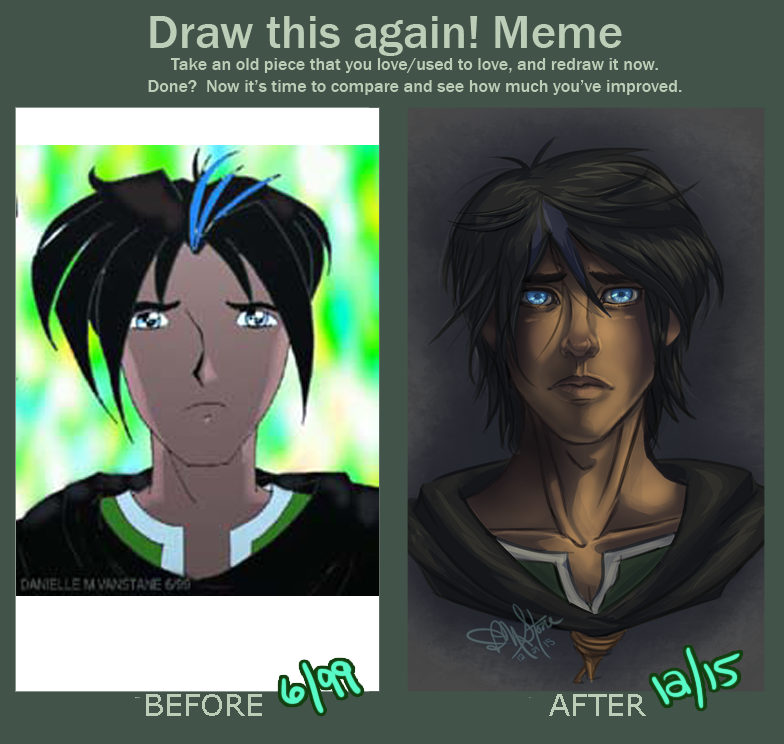 Redraw Starring Yasuo Before 1999 And After 2015 By Danni Stone