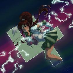 Sailor Jupiter by Danni-Stone