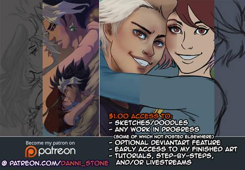Support My Art on Patreon :)