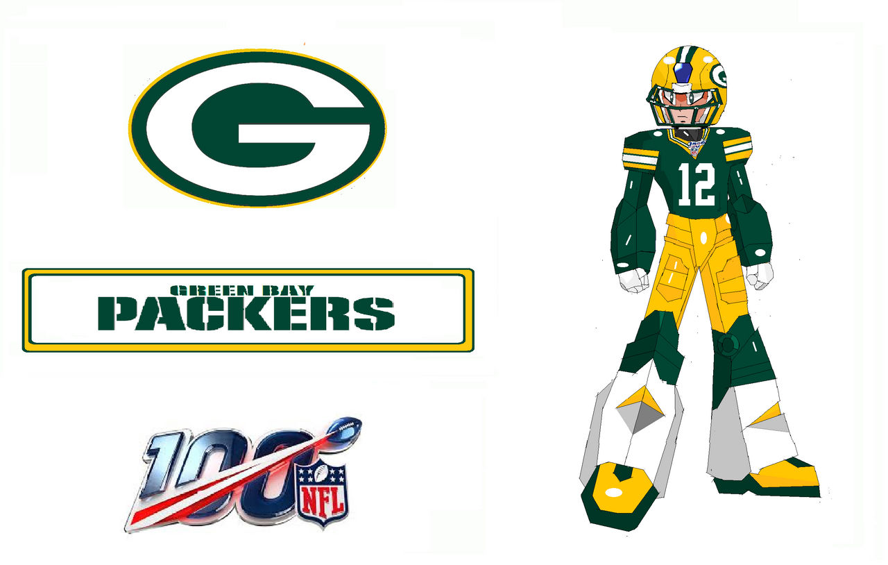 finest selection 1a883 6001d MMX NFL 100: Green Bay Packers Home Uni Armor by hbgoo on ...