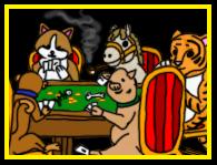 Poker pets by Amazinadrielle