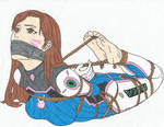 D.va Tape gagged and bound