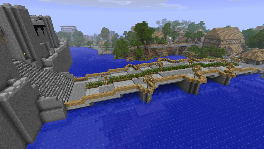 Exceptionnel Graphisterium Bridge Minecraft By Nyl000 ...