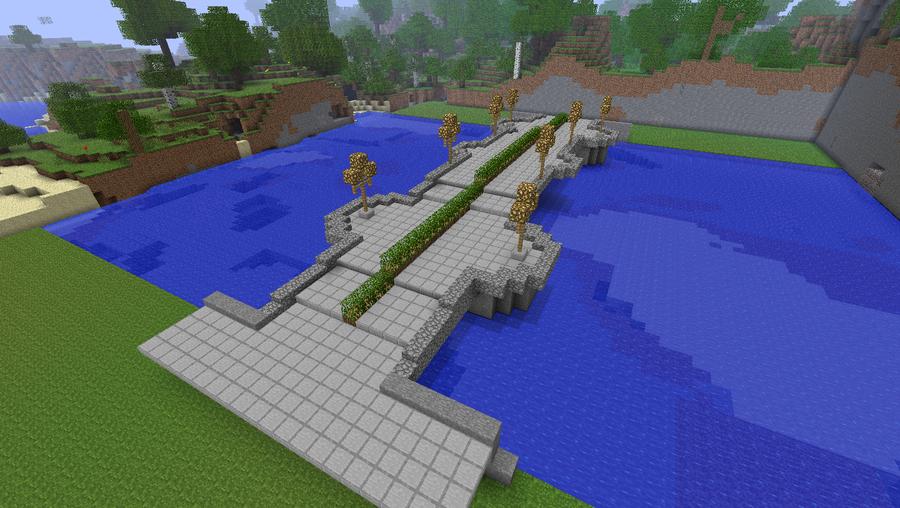 minecraft japanese bridge - Minecraft Japanese Bridge