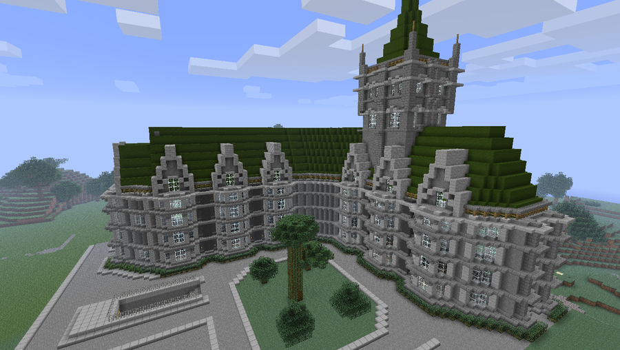 St pasteque cathedral city of landrinos by nyl000 on deviantart - Comment faire une maison de luxe dans minecraft ...