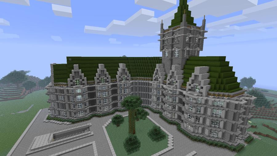 Top Minecraft maison de luxe - équipement de maison WH25