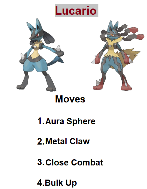 how to get lucario in pokemon ultra sun
