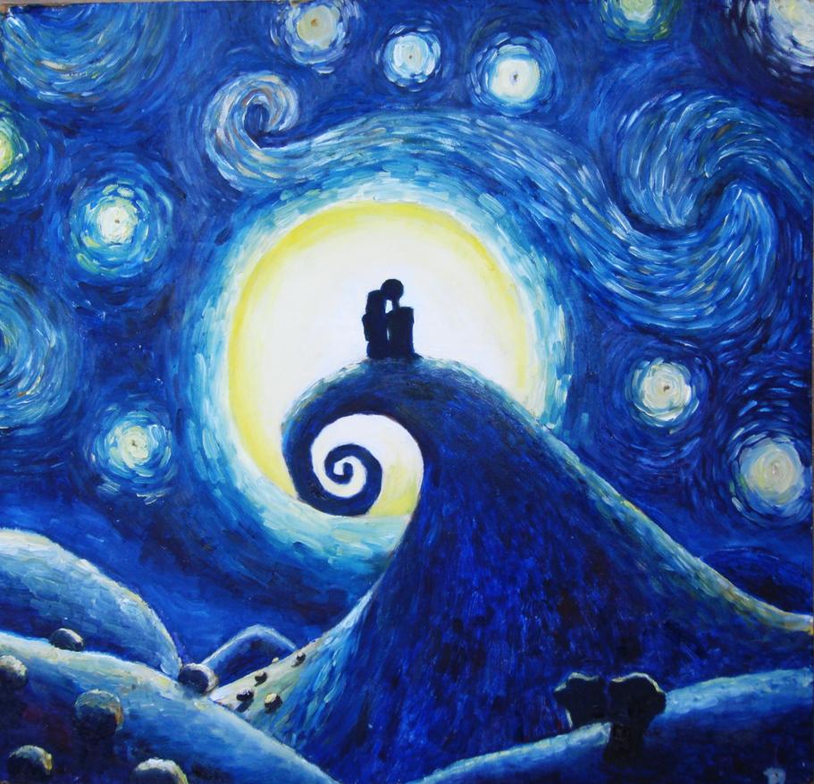 Starry night by Blacksheep0 on DeviantArt