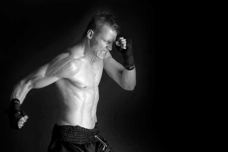 Muay-thai: Upper cut by Erric