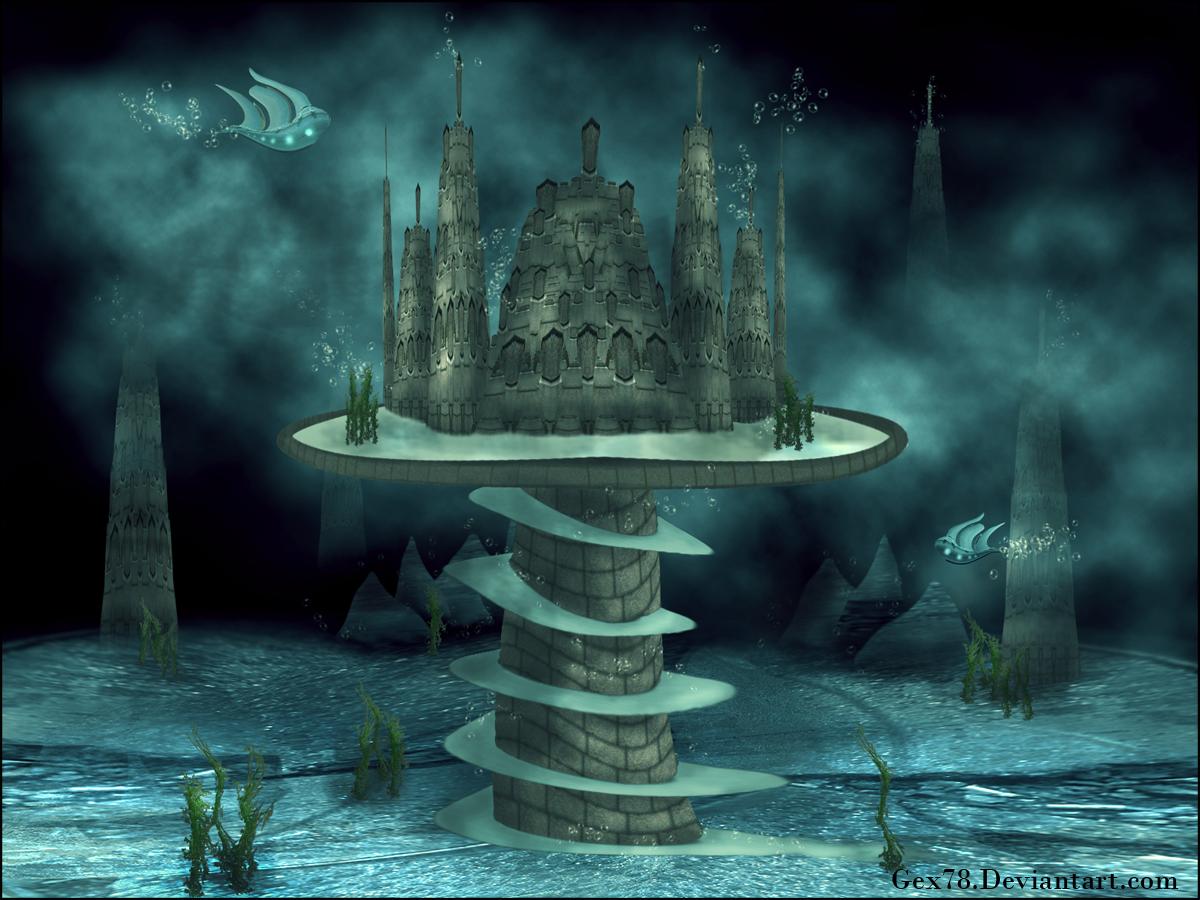 atlantis city underwater